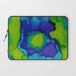 Purple and green dreams Laptop Sleeve