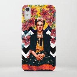 Frida Tropical iPhone Case