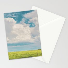 Gallatin County Storm Clouds Stationery Cards