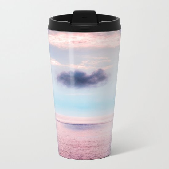 Pastel sea Metal Travel Mug