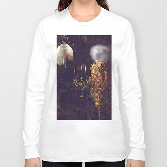 ghosts of the Louvre Long Sleeve T-shirt