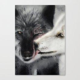 Keep Fighting My Friend Canvas Print