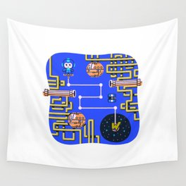 Overworld: Crash Wall Tapestry