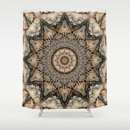 Mandala Isolation Shower Curtain