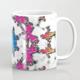 Alien Artefact Mandala Pattern Coffee Mug