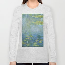 Water Lilies 1906 by Claude Monet Long Sleeve T-shirt