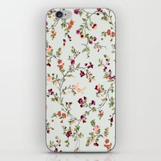 floral vines - neutrals iPhone & iPod Skin