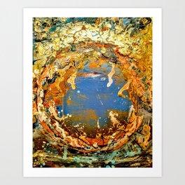 Paradis Perdu Art Print