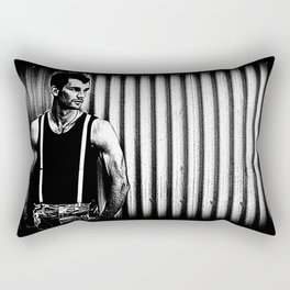 Suspenders Rectangular Pillow