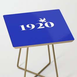 1920 Blue Dove Side Table