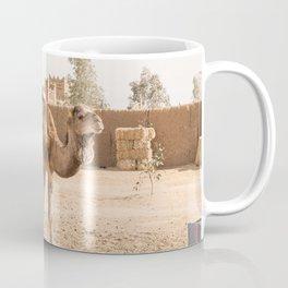 Desert Life With Camel - Sahara, Morocco Coffee Mug