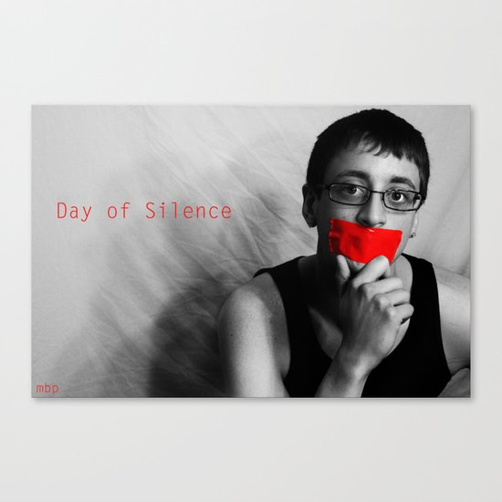 Day of Silence (Derreck).  Canvas Print