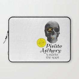 Pirate Archery - X Marks the Spot Laptop Sleeve