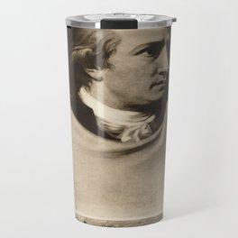 Vintage poster - Johann Wolfgang von Goethe Travel Mug