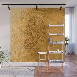Sherlock - Gold Wall Mural