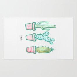 Cacti / Cactus Illustrations Rug