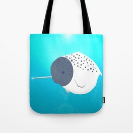 Fat Narwhal Tote Bag