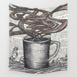 Waves of Roasted Goodness Wall Tapestry