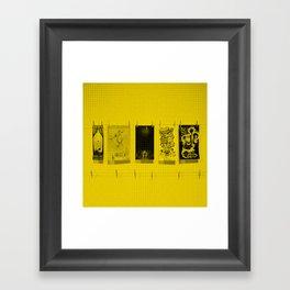 Paper Jam Posters Framed Art Print