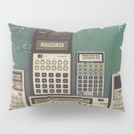 Casio Calculators...the good old days. Pillow Sham