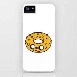 Cute Jake Donut iPhone Case