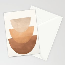 Abstract Rock Geometry 06 Stationery Cards