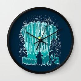 Snowstorm Wall Clock