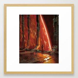 BEGIN (everyday 09.12.18) Framed Art Print