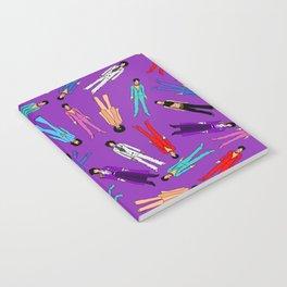 Purple Pattern 2 Notebook