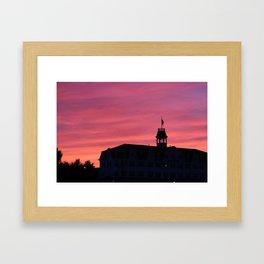 Sunset - Block Island Framed Art Print