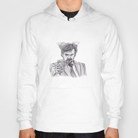 murray Hoodies featuring Murray (Prince of Parties) by jamestomgray
