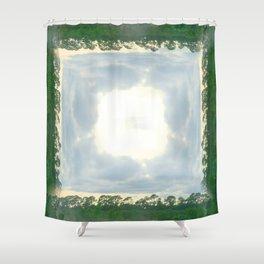 roadtrip: lace Shower Curtain