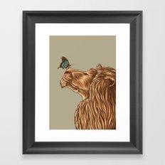 Gentle Man Framed Art Print