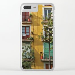 Windows in Barcelona Clear iPhone Case