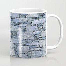 Blue terrazzo wall with shale stones Coffee Mug