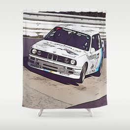 M Nordschleife Shower Curtain