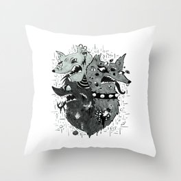 M Y T H Throw Pillow
