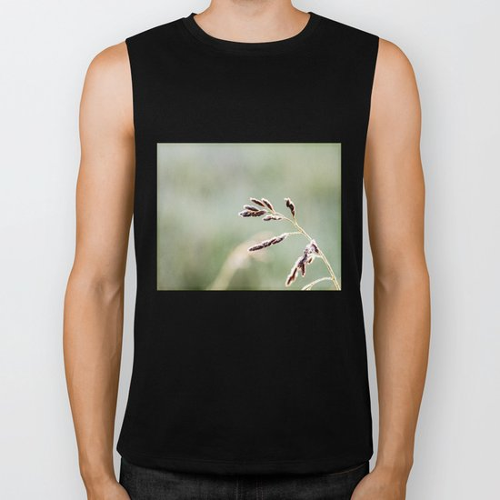 frosted weed Biker Tank