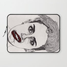 Miley with Red Lips Laptop Sleeve