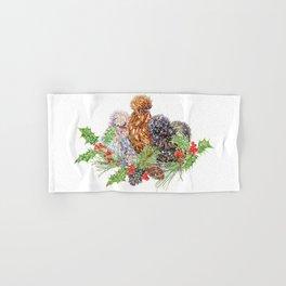 Three F̶r̶e̶n̶c̶h̶ Silkie Hens Hand & Bath Towel