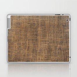 Burlap Grid Laptop & iPad Skin