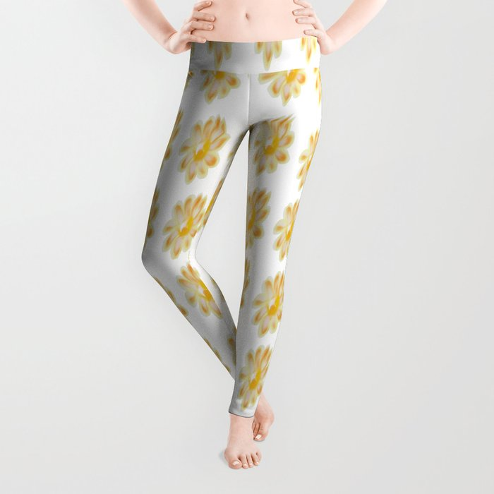 Golden Daisy Leggings