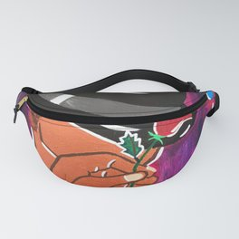 Purple Intrigue Fanny Pack