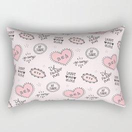 anti-valentines Rectangular Pillow