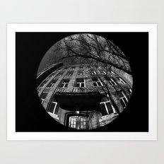 Architecture by Photographe de Sherbrooke Art Print
