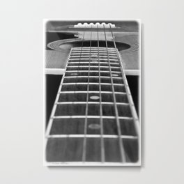 Guitar Gently Weeps Metal Print