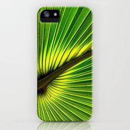 Green Burst iPhone Case