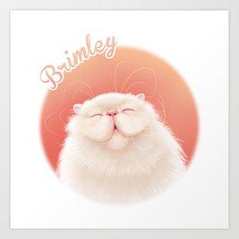 Brimley Smiling Art Print