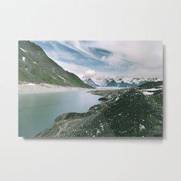 Backside Lake Metal Print