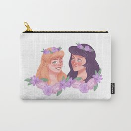 xena and gabrielle - flower crowns Carry-All Pouch